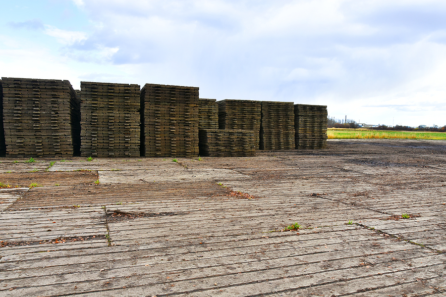 Bamboo road mats