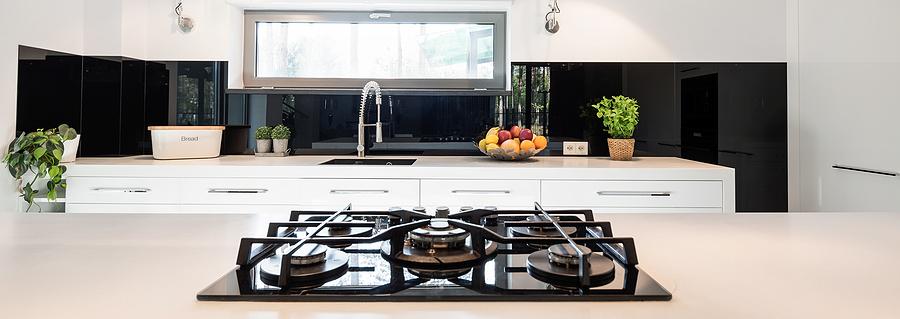 Contemporary minimalist kitchen
